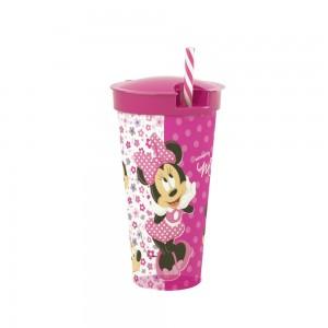 Imagem do produto - Copo com Canudo 2 em 1 | Minnie