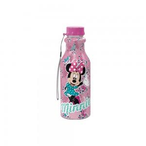 Imagem do produto - Garrafa de Plástico 500 ml com Tampa Rosca Retrô Minnie