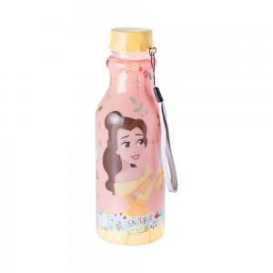 Imagem do produto - Garrafa de Plástico 500 ml com Tampa Rosca Retrô Princesas Bela