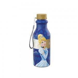 Imagem do produto - Garrafa de Plástico 500 ml com Tampa Rosca Retrô Princesas Colecionáveis Cinderela