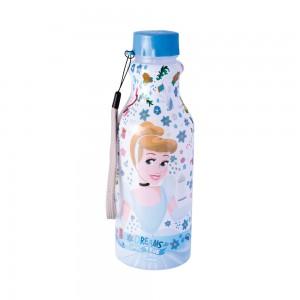 Imagem do produto - Garrafa de Plástico 500 ml com Tampa Rosca Retrô Princesas Cinderela