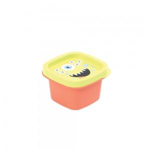 Imagem do produto - Pote de Plástico Quadrado 200 ml Monstros Clic