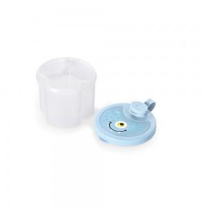 Imagem do produto - Dosador de Leite em Pó de Plástico com 3 Compartimentos Tampa Encaixável e Bico Direcionador Monstros