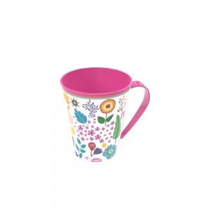 Imagem do produto - Caneca de Plástico 360 ml Floral
