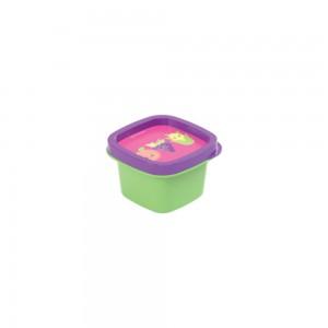 Imagem do produto - Pote de Plástico Quadrado 200 ml Frutas Clic
