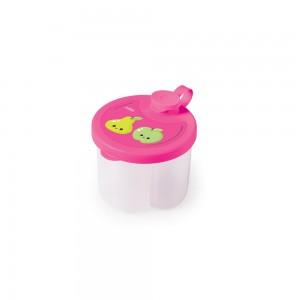 Imagem do produto - Dosador de Leite em Pó de Plástico com 3 Compartimentos Tampa Encaixável e Bico Direcionador Frutas