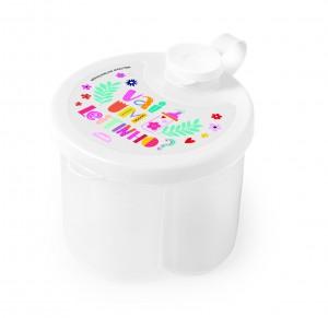Imagem do produto - Dosador de Leite em Pó de Plástico Floral