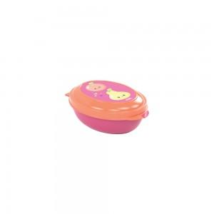 Imagem do produto - Saboneteira de Plástico com Tampa Fixa Frutas