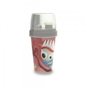Imagem do produto - Mini Shakeira de Plástico 320 ml com Misturador, Fechamento Rosca e Sobretampa Articulável Toy Story Forky