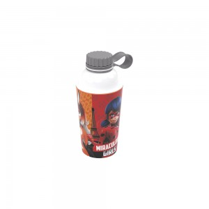 Imagem do produto - Garrafa de Plástico 430 ml com Tampa Rosca Fixa Vip Miraculous 430ml