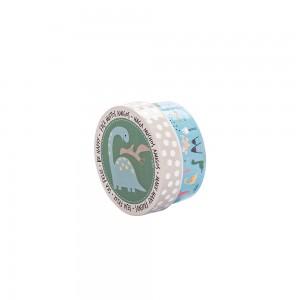 Imagem do produto - Caixa de Plástico Redonda 630 ml com Tampa Encaixável Dino