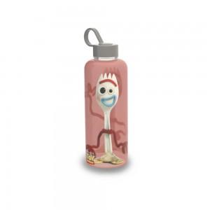 Imagem do produto - Garrafa de Plástico 480 ml com Tampa Rosca e Pegador Fixo Cilíndrica Toy Story Forky
