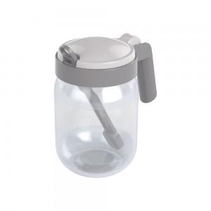 Imagem do produto - Açucareiro de Plástico com Alça e Colher 450 ml