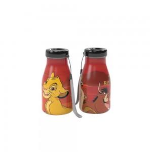 Imagem do produto - Garrafa de Plástico 390 ml com Tampa Rosca Milk O Rei Leão