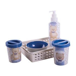 Imagem do produto - Kit Higiene 5 Peças Urso