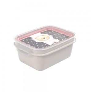 Imagem do produto - Marmita de Plástico 1,2 L com Divisória Removível e Travas Laterais Ursa