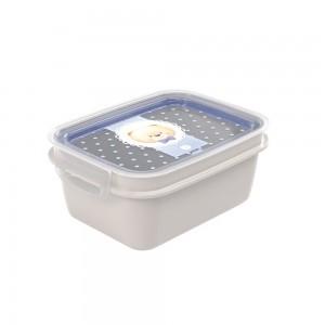 Imagem do produto - Marmita de Plástico 1,2 L com Divisória Removível e Travas Laterais Urso