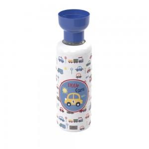 Imagem do produto - Porta Sabão Líquido 970 ml com Dosador Carrinhos