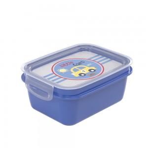 Imagem do produto - Marmita de Plástico 1,2 L com Divisória Removível e Travas Laterais Carrinhos