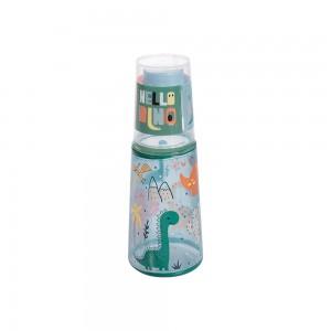 Imagem do produto - Garrafa Moringa de Plástico 960 ml com Copo Dino