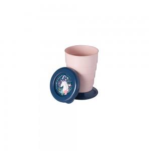Imagem do produto - Copo Retrátil de Plástico 330 ml com Tampa Unicornio