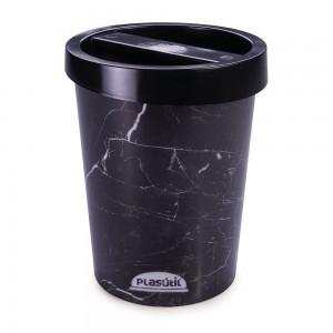 Imagem do produto - Lixeira 5,5 L | Mármore Preto