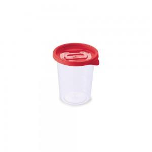 Imagem do produto - Pote de Plástico Redondo 680 ml Clic Vermelho