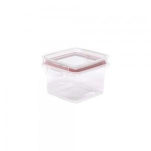 Imagem do produto - Pote de Plástico Quadrado 380 ml Hermético Trava Mais