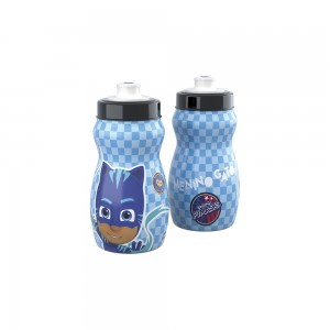 Imagem do produto - Garrafa Squeeze de Plástico 300 ml com Tampa Rosca Pj Masks Menino Gato