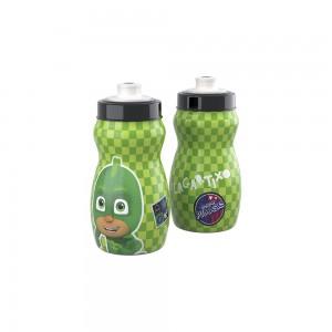 Imagem do produto - Garrafa Squeeze de Plástico 300 ml com Tampa Rosca Pj Masks Lagartixo