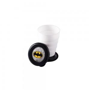 Imagem do produto - Copo Retrátil de Plástico 330 ml com Tampa Batman