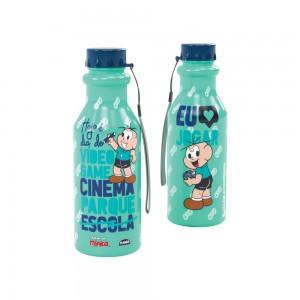 Imagem do produto - Garrafa de Plástico 500 ml com Tampa Rosca Retrô Cebolinha