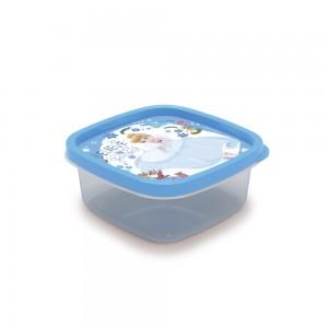Imagem do produto - Pote de Plástico Quadrado 580 ml Princesas Cinderela Clic