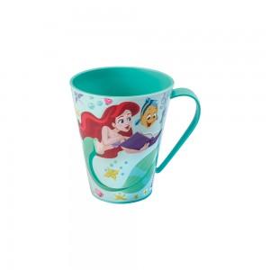 Imagem do produto - Caneca de Plástico 360 ml Princesas Pequena Sereia