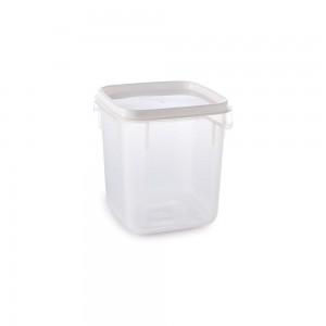 Imagem do produto - Pote de Plástico Quadrado 1,7 L Moduline
