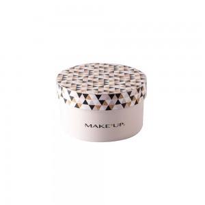 Imagem do produto - Caixa de  Plástico Redonda 1,2 L com Tampa Encaixável Maquiagem