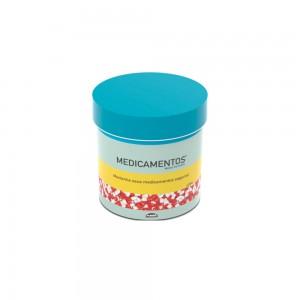 Imagem do produto - Caixa de  Plástico Redonda 1,2 L com Tampa Encaixável Medicamentos