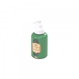 Imagem do produto - Garrafa de Plástico 280 ml com Bomba Molho