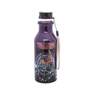 Imagem do produto - Garrafa de Plástico 500 ml com Tampa Rosca Retrô Avengers Pantera Negra