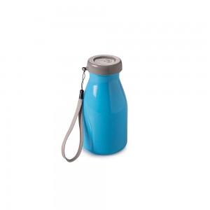 Imagem do produto - Garrafa de Plástico 390 ml com Tampa Rosca Milk Neon
