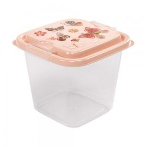 Imagem do produto - Pote de Plástico Quadrado 1,4 L com Travas Clic e Trave Borboleta