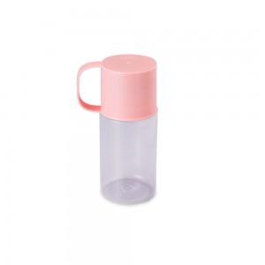 Imagem do produto - Garrafa de Plástico 300 ml com Caneca De Bem com a Vida