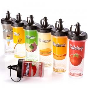 Imagem do produto - Conjunto de Bisnagas de Plástico Retrô 7 Peças