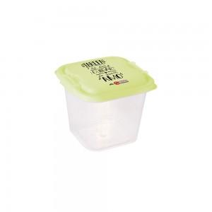 Imagem do produto - Pote de Plástico Quadrado 1,4 L com Travas Clic e Trave Protege