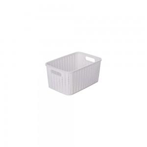 Imagem do produto - Cesta de Plástico Retangular Organizadora 2,8 L sem Tampa e Pegador Trama