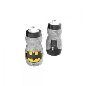 Imagem do produto - Garrafa Squeeze de Plástico 300 ml com Tampa Rosca Batman