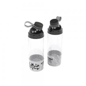 Imagem do produto - Garrafa de Plástico 580 ml com Tampa Rosca e Compartimento Batman
