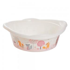 Imagem do produto - Bacia de Plástico Redonda 17 L com Pegador Bichinhos Petit