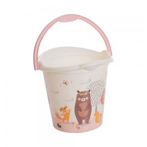 Imagem do produto - Balde de Plástico 8 L com Alça Bichinhos Petit