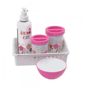 Imagem do produto - Kit Higiene 5 Peças Floral